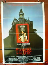 """Flowers in the Attic {Louise Fletcher} Original INT. 40""""x27"""" Movie Poster 80s"""