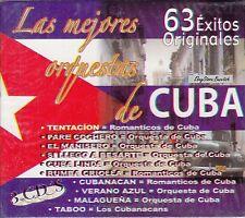 Las Mejores Orquestas de Cuba 63 Exitos de Cuba 3CD Box set New Nuevo Sealed