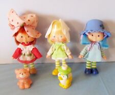 1980'S KENNER STRAWBERRY SHORTCAKE, MINT TULIP & BLUEBERRY MUFFIN SHORTCAKE DOLL