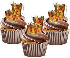 Pimms Jug & Glasses Cake Cupcake Summer Toppers Wafer Card Novelty Decorations