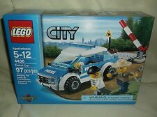 Sealed Lego 4436 City Police Patrol Car Forrest Theme Rare & Retired!!