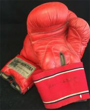 Vintage Gant de Boxe Cuir Montana Design French Boxing Gloves Atelier 1