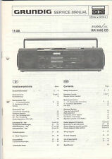 Grundig service INSTRUCTIONS MANUAL rr 9000 CD b545