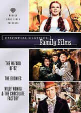 Essential Classics - Family Films (The Wizard of Oz / The Goonies / Willy Wonka