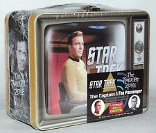 Twilight Zone / Star Trek Lunchbox Gift Set - Bob Wilson Captain Kirk - Shatner