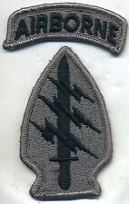 US Army Special Forces ACU Patch W/Airborne Tab