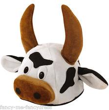 Pour Hommes Femmes Bull Animal Vache Espagnol Costume Déguisement Chapeau