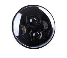 LED 7 Inch Round Projector Headlights Black Housing Low/High H6024 H6012  Single