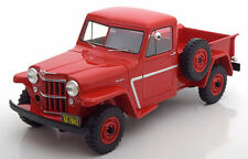 1954 Willys Jeep Pick Up Red by BoS Models LE of 1000 1/18 Scale New Release!