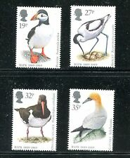 GREAT BRITAIN 1239-42, 1989 BIRDS, MNH, (ID6011)