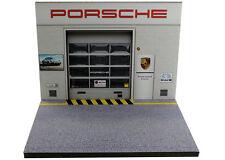 Diorama présentoir Porsche Zentrum Emscher - 1/43ème - #MR43A080
