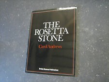 VG! VNTG British Museum Rosetta Stone Egypt Greek Text Picture History Art Book