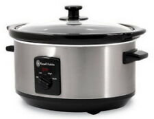 Russell Hobbs 3.5ltr Oval Slow Cooker - 4443BSS
