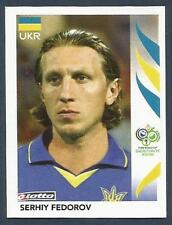 PANINI FIFA WORLD CUP-GERMANY 2006- #552-UKRAINE-SERHIY FEDOROV