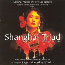 Shanghai Triad: Original Motion Picture Soundtrack Zhang Yimou MUSIC CD