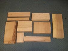 Hardwood Oak & Elm Cut-offs, Scraps, Lumber Wood Pen Blanks Duck Calls Turning
