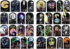 32 Nightmare Before Christmas Full Nail Art Wrap Water Slide Decals