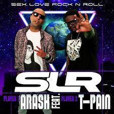 T-PAIN ARASH - SEX LOVE ROCK'N ROLL (SLR) (2-TRACK)  CD SINGLE NEU