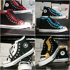 Converse Chuck Taylor All Star Upper High Sz 6 7 8 9 13 Black Shoes Men Women