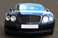 Bentley Continental GT / GTC (2004-07) - Stainless Steel Lower Grill Set (black)