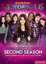 VICTORIOUS : COMPLETE SEASON 2 (Nickelodeon)  -  DVD - REGION 1 - Sealed