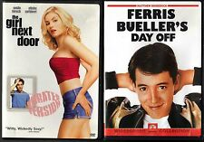 The Girl Next Door (DVD, 2004, Unrated) & Ferris Bueller's Day Off (DVD, 1999)