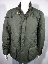 NWT Polo RALPH LAUREN Cadwell Quilted Bomber Hunting Jacket Olive size XXL