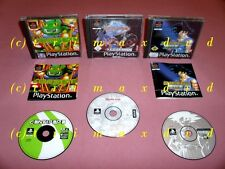 Ps1 _ Beyblade Let it RIP & Dragon Ball Z Ultimate Battle 22 & Centipede