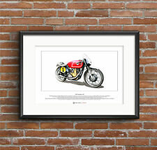 Matchless G50 Limited Edition Fine Art Print A3 size