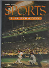 1954 SPORTS ILLUSTRATED FIRST ISSUE!! WITH BASEBALL CARD INSERTS COA NICE!!