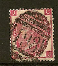 GB SURFACE PRINTED: 1870 3d rose plate 6 C-J  SG 104 used