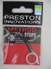 PRESTON INNOVATIONS - METHOD FEEDER STOPS - QTY 12