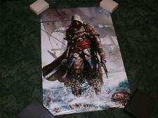 Official Ubisoft Licenced Poster ~ Assassins Creed IV Black Flag ~ NEW