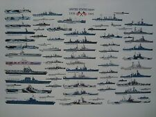 UNITED STATES NAVY 1939 1945 THE PICTURES OF THE MOST SHIPS COMMISSIONED IN WW 2