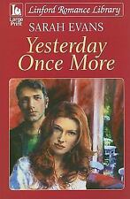 Yesterday Once More (Linford Romance Library)