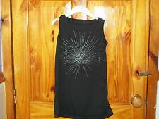 ***NEW*** BLACK FIREWORK LONG TOP AGE 4-5***