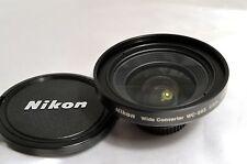 Nikon wide angle WC-E63 0.63X 28mm  Lens   - - - - - - - MINT