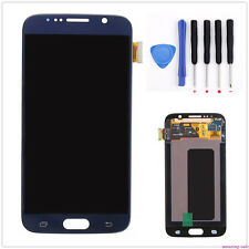 A+ LCD Touch Screen Glass Digitizer For Samsung Galaxy S6 G920 G920F G920A Blue
