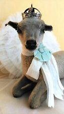 """""""Mary had a little lamb"""":vintage taxidermy little lamb,lying position,soo lovely"""