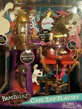 New Bratzillaz Cafe Zap Playset Bratz Doll Pets Fireplace NIB