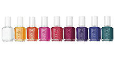 Essie Silk WaterColor Collection Nail Polish Lacquer 2015 Set of 9 Colors