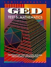 Contemporary's Ged: Test 5 : Mathematics : Preparation for the High School Equiv
