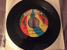 "E. LOIS FOREMAN:""Stop, Look And Listen / Two For Me To Love"" DJ SURE-SHOT VG/VG+"