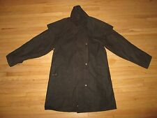 New THOMAS COOK High Country Brown Waxed Cotton Short Riding Coat S *AUSTRALIA