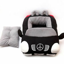 Dog Bed Soft Car Pet Beds Cover For Small-Medium Kennel Nest Cool Car Shape Pet