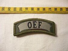 Aesi carattere arco nero/verde oliva NATO tessuti operazione Enduring Freedom