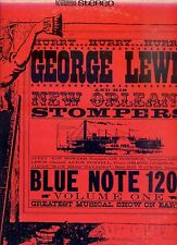 GEORGE LEWIS And his NEW ORLEANS STOMPERS hurry hurry hurry BLUE NOTE 1205 EX LP