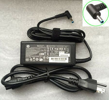 OEM HP Pavilion 15-G020DX 15-g029wm 15-g035wm blu 65w Laptop Power Charger+Cord