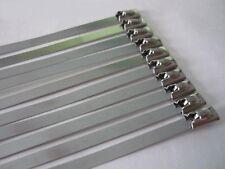 Metallkabelbinder 150mm 10STK Stahlbinder Stahlband Hitzeschutzband Auspuffband