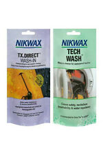 NIKWAX TECH WASH/TX DIRECT POUCH TWIN PACK Clothing Waterproofing waterproofer